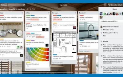 L'application Trello vous permet de mieux organiser vos projets