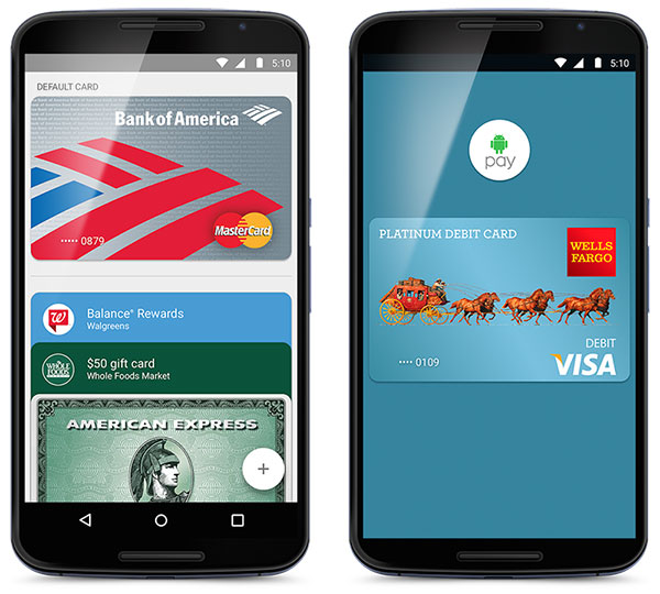 Android Stomps Onto Mobile Pay Battlefield